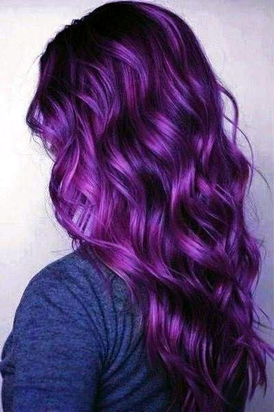 25 Purple Hair Color Ideas To Try In 2020 Purple Hair Hair Color Purple Lilac Hair