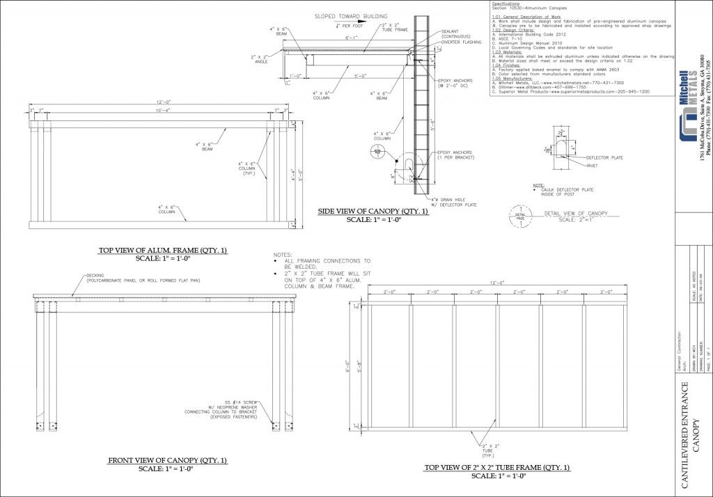 Cantilevered Canopy Details Awnings Canopy Outdoor