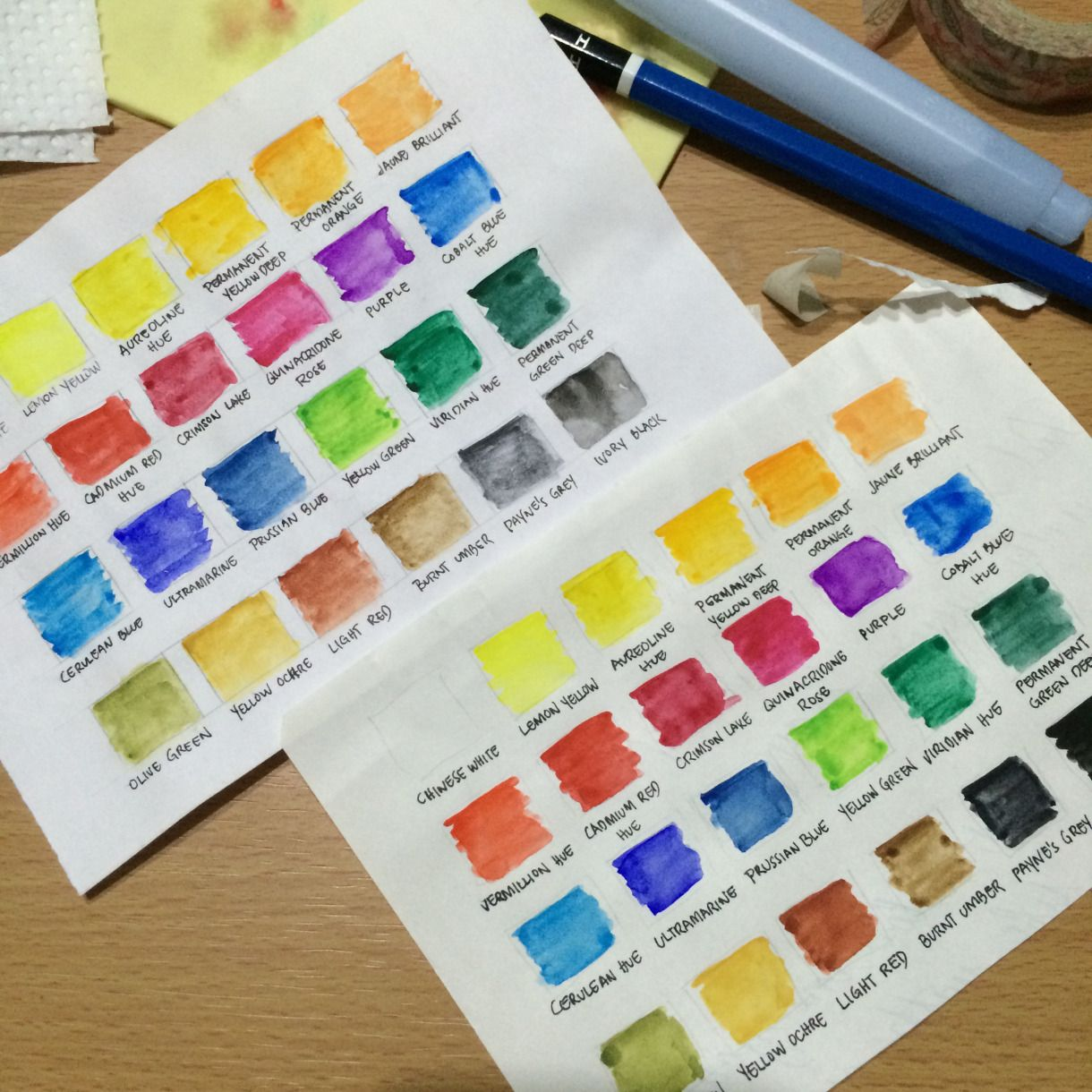 A Review Of The Sakura Koi Watercolor Field Set