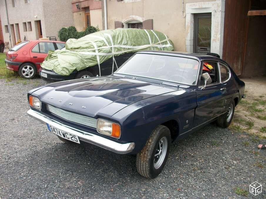 Ford capri mk1 1300 v4 xlr 3500 euro voitures moselle for Garage ford moselle