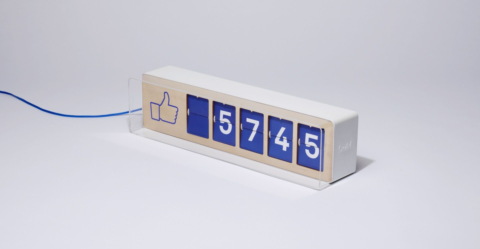 The first physical Facebook Fan/Like counter: smiirl.com | Products ...