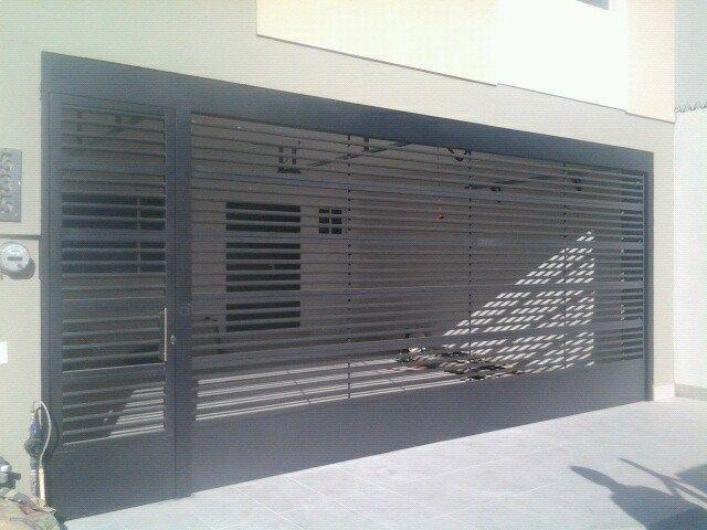 Portones-Contemporáneo – Herreria Moderna | Muebles | Pinterest ...