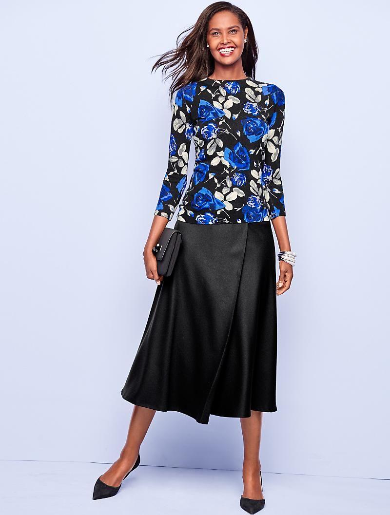 7d21d45870a Italian Flannel Riding Skirt