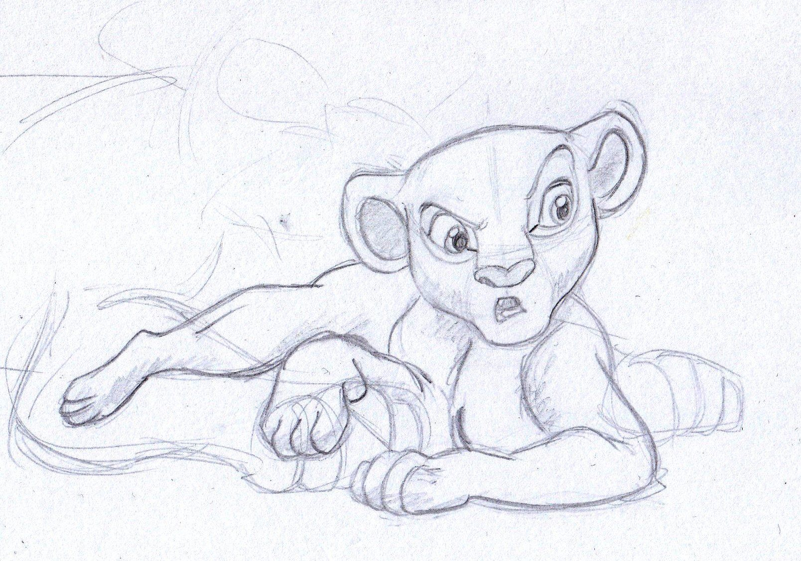 7820df805 disney sketch - nala from the lion king | Art by Anna Helena in 2019 ...