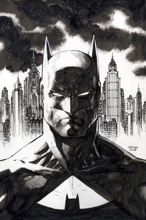 Jim Lee Drawing Batman Batman Drawing Batman Artwork Batman Art