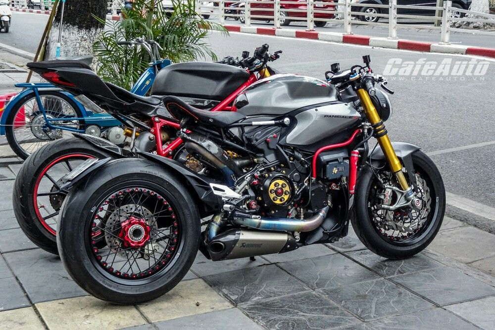Ducati 1199 Panigale Custom cafe racer | Motos | Pinterest ...