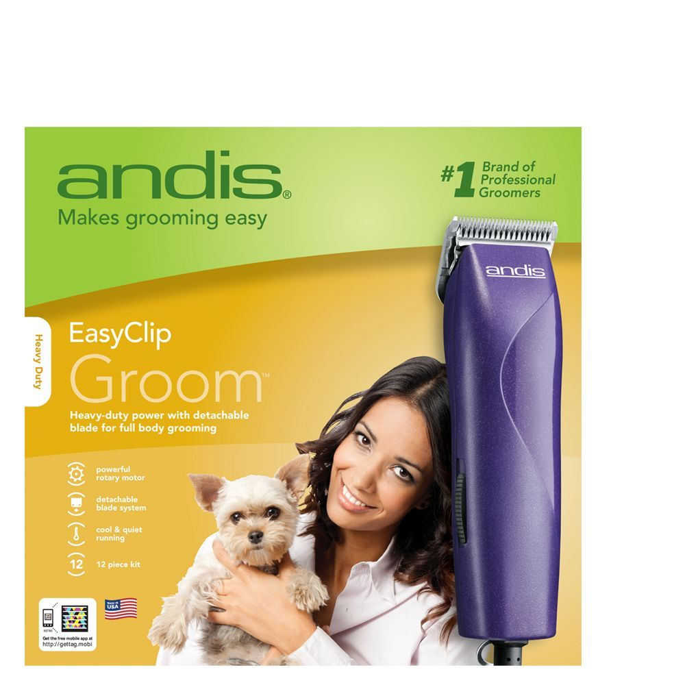 Andis Easyclip Groom Trade Pet Hair Clipper In 2020 Dog Hair Hair Clippers Petsmart Grooming Coupons