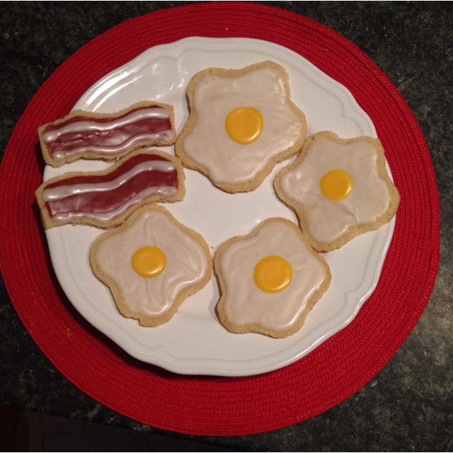cute breakfast cookies