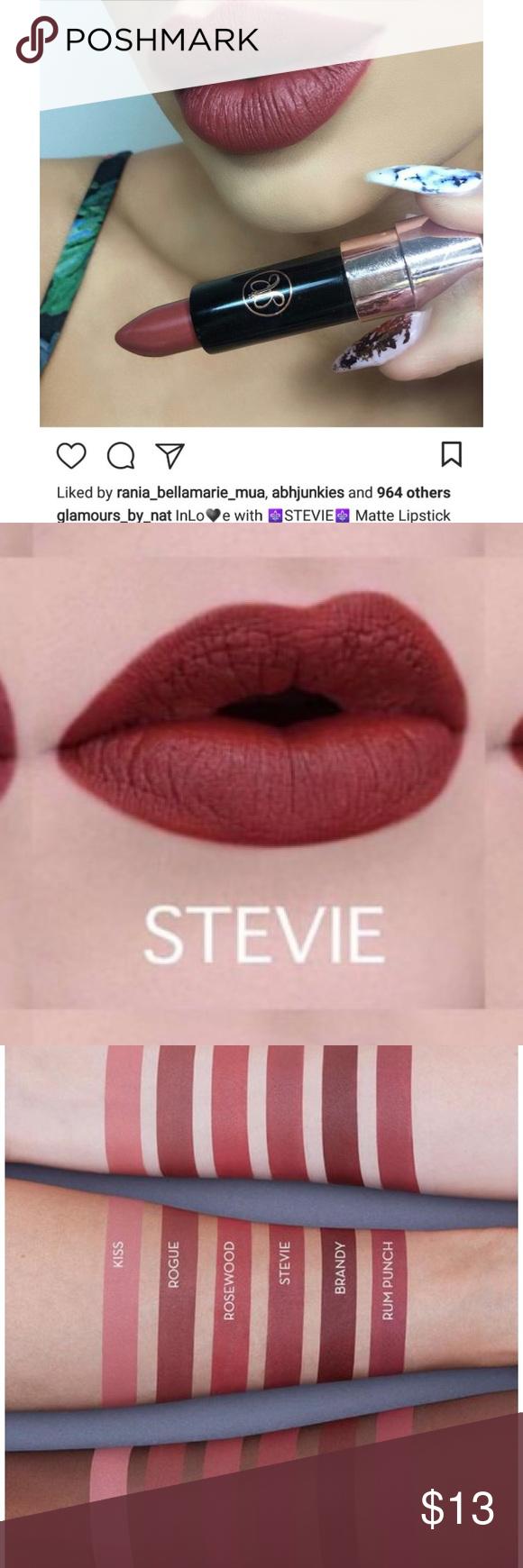 Nib Anastasia Beverly Hills Matte Lipstick Matte Lipstick Brands Lipstick Brands Lipstick
