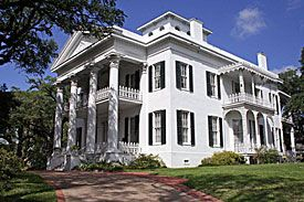 view of Stanton Hall antebellum home in Natchez, Mississippi.  Went here as a child with my family & thought it was so beautiful.  Would love to take my children some day!