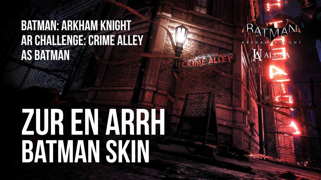 Batman Arkham Knight Ar Challenge Crime Alley As Batman Hd