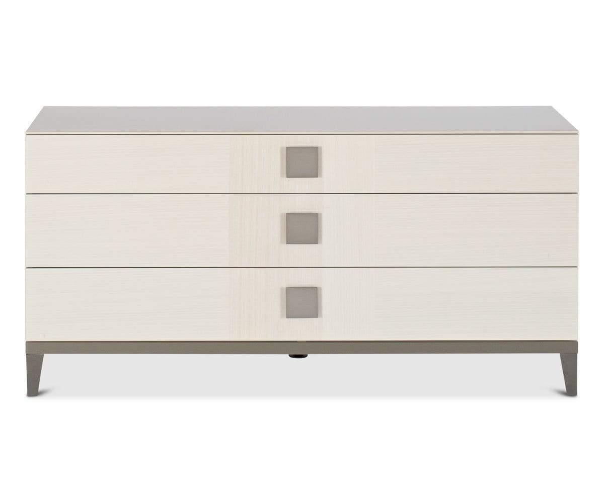 Monchiaro Double Dresser High Gloss Light Grey Double Dresser Refurbished Furniture Dresser [ 1000 x 1200 Pixel ]