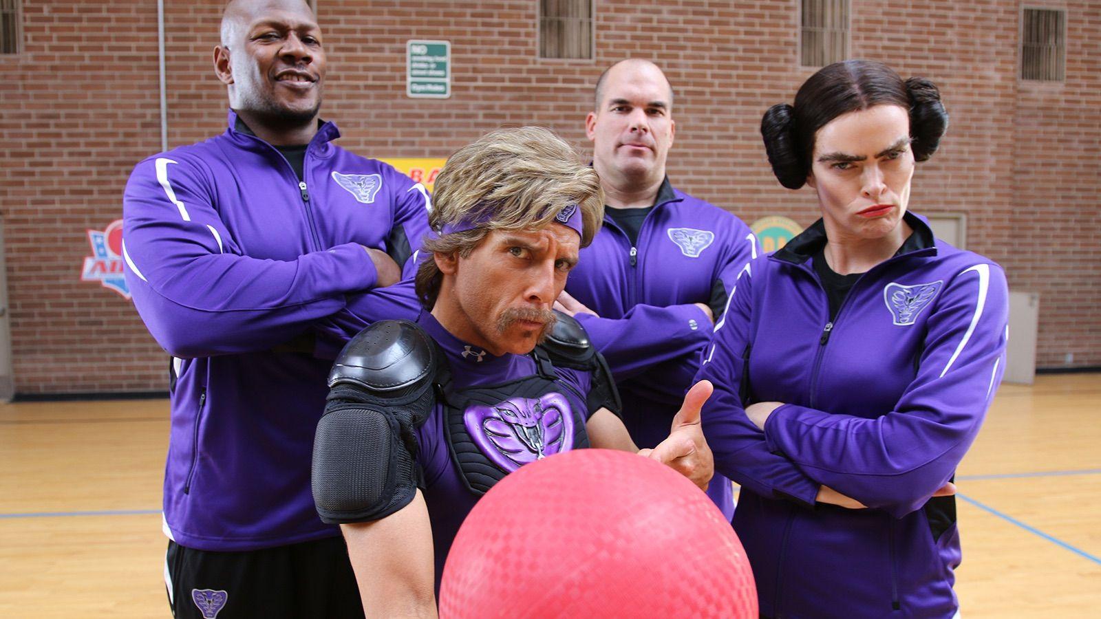 Join Ben Stiller for the Most Epic Game of Dodgeball Ever