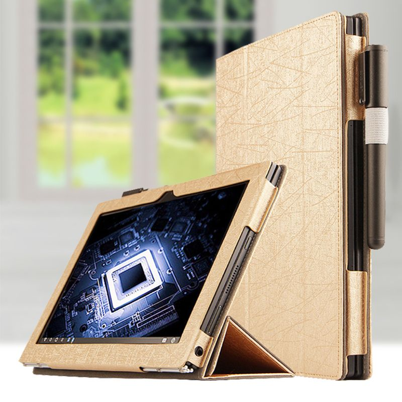 purchase cheap 00b0b e1bb1 Leather Case For Lenovo YOGA BOOK Case Cover Luxury 10.1