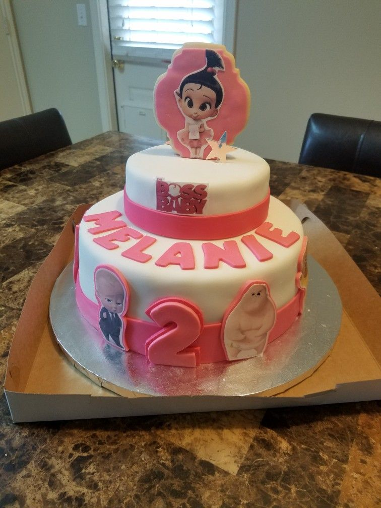 Boss Baby Cake Stacy With Images Baby Birthday Party Baby