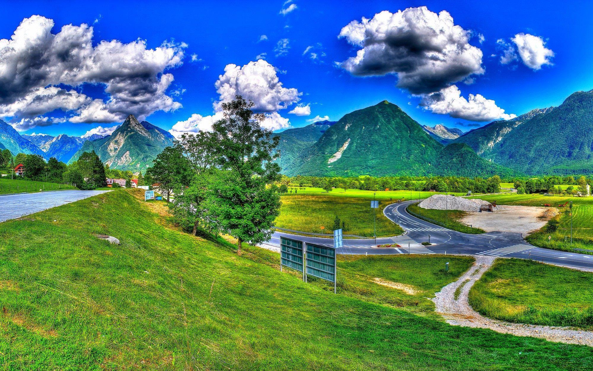 photos of slovenia landscape HD Slovenië