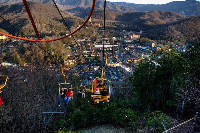 Gatlinburg Ski Lift, Family Fun And A Great View. #smoky Mountains #Family