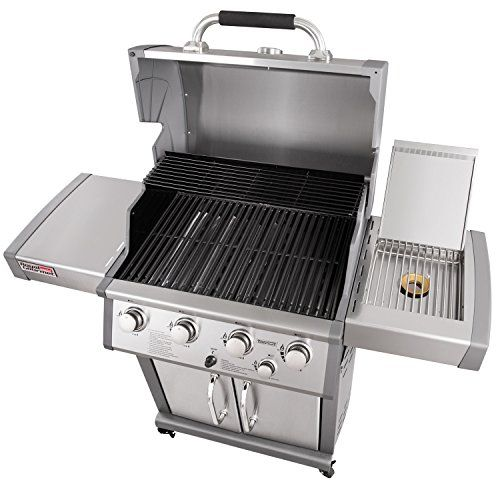 Royal Gourmet Deluxe Mirage 4 Burner Propane Gas Grill With Side Burner Stainless Steel Gas Barbeque Reviews