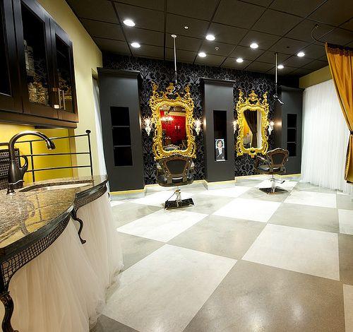 Gold White Interior Design: Black, White, And Gold.