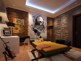 Photo of Modern Bedroom av yasseresam på DeviantArt