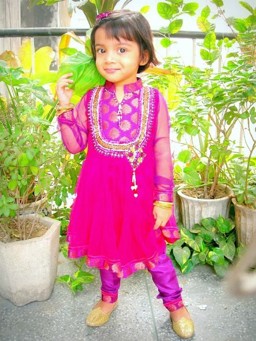 d906990de My lovely cute baby girl in an Indian Outfit   Kids outfits   Diwali ...