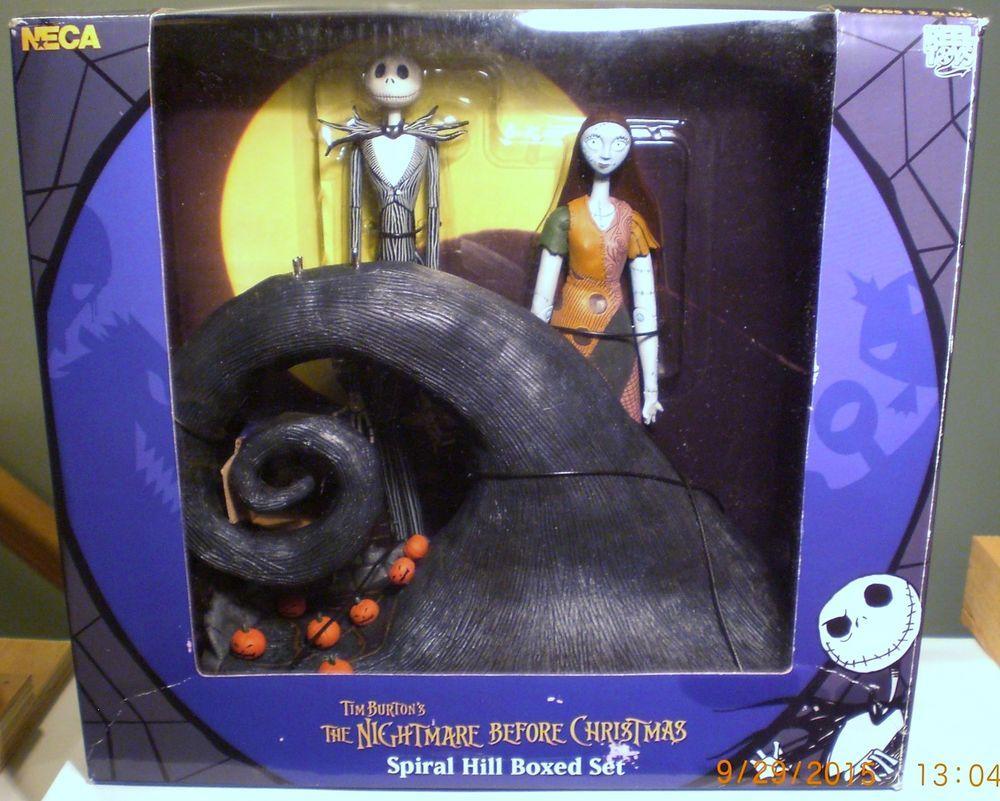 NECA NBC Disneys The Nightmare Before Christmas Jack & Sally Spiral ...