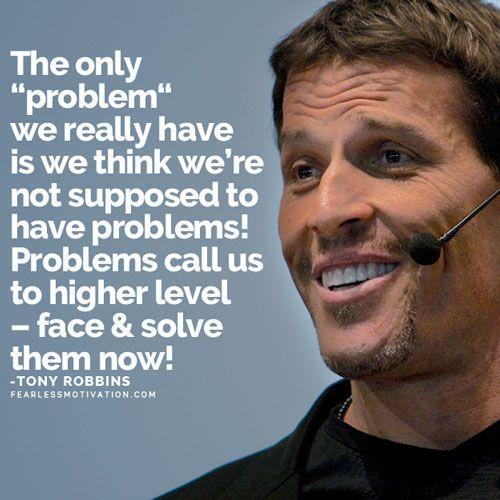 How Tony Robbins Handles Negativity in Life