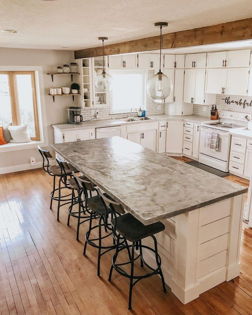 Types Of Kitchen Countertops Pros And Cons Crafome In 2020 Types Of Kitchen Countertops Countertops Corian Countertops