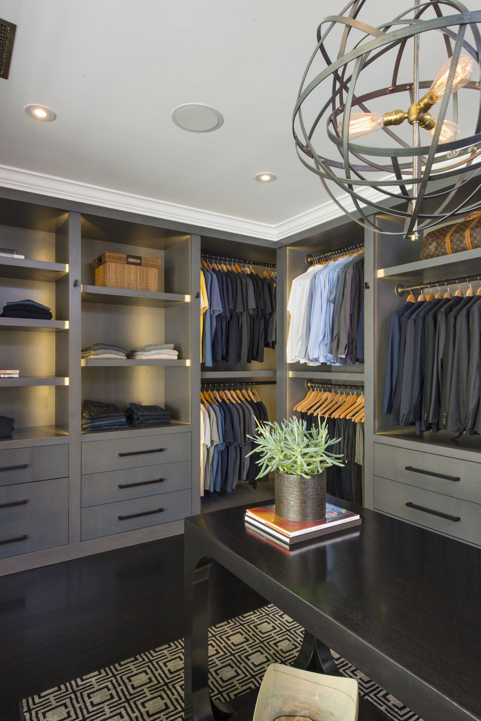 Jeff Lewisu0027 Master #closet Design. Love The Built In #storage Shelves!