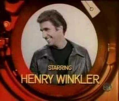 Eventually Henry Winkler Got Top-Billing | Fonzie  <3 | Happy days