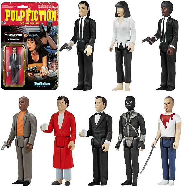 Action Figures Retro Funko ReAction: Pulp Fiction de Quentin Tarantino