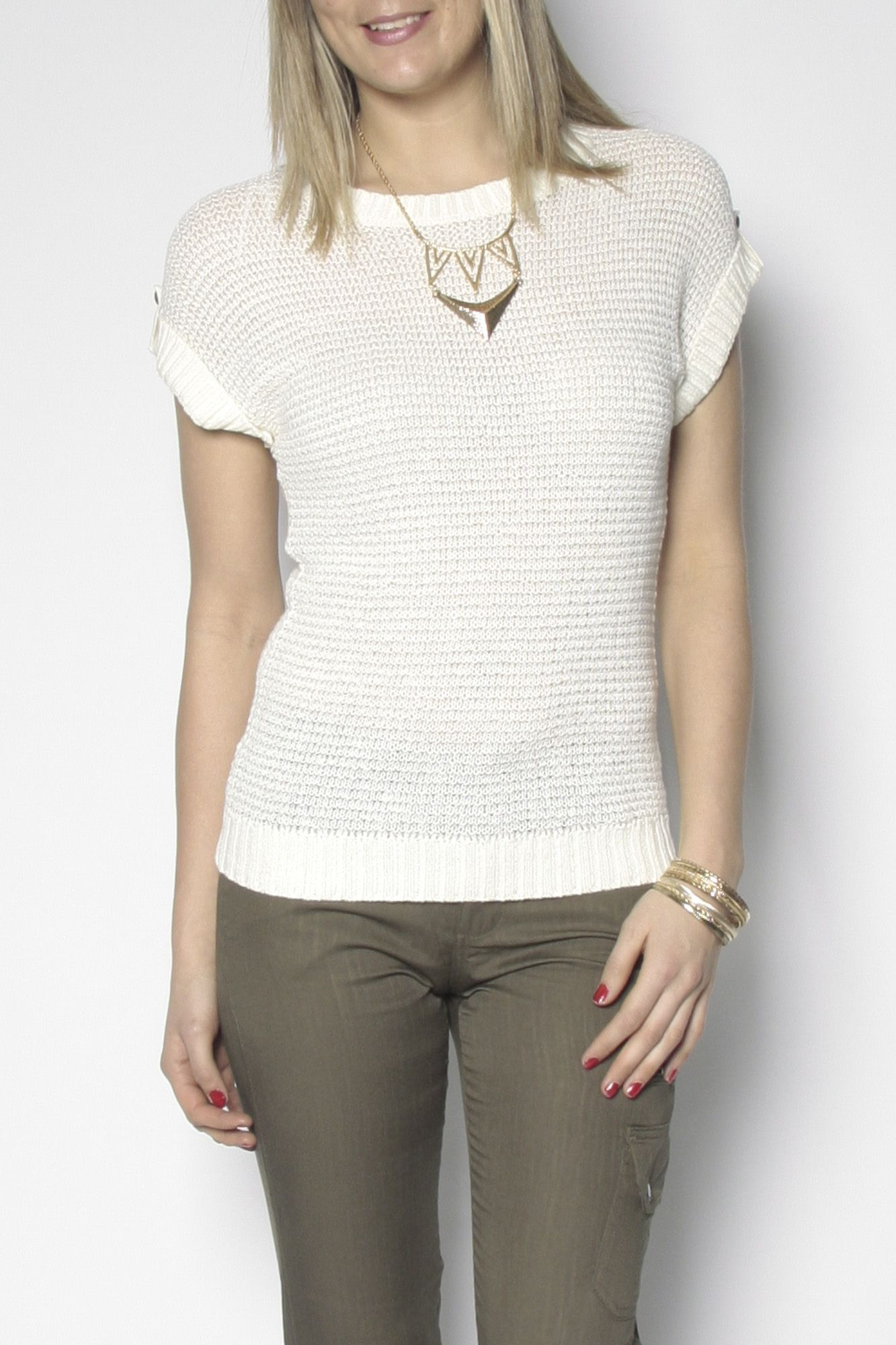 Short sleeve pull over @ Suzy Shier
