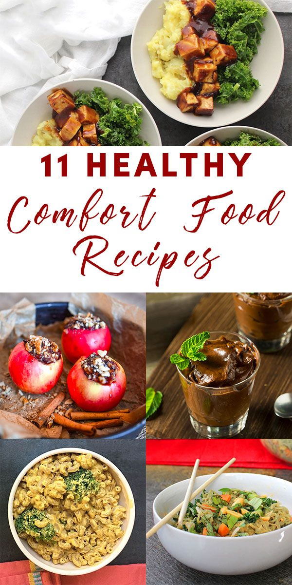 Try These Delicious Yet Healthy Comfort Food Recipes Next