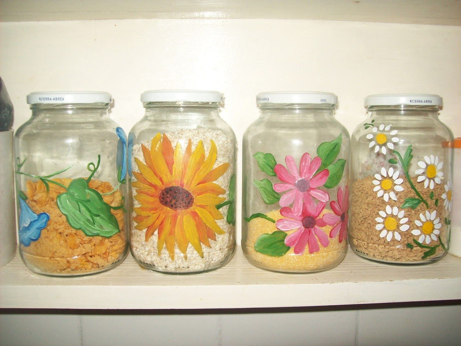 Reciclarte frascos decorados botellas de vino - Manualidades con envases ...
