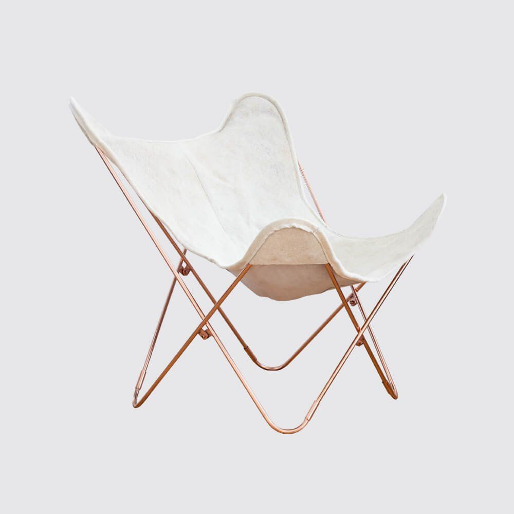 palermo chair - copper & cowhide | beautiful, copper and palermo