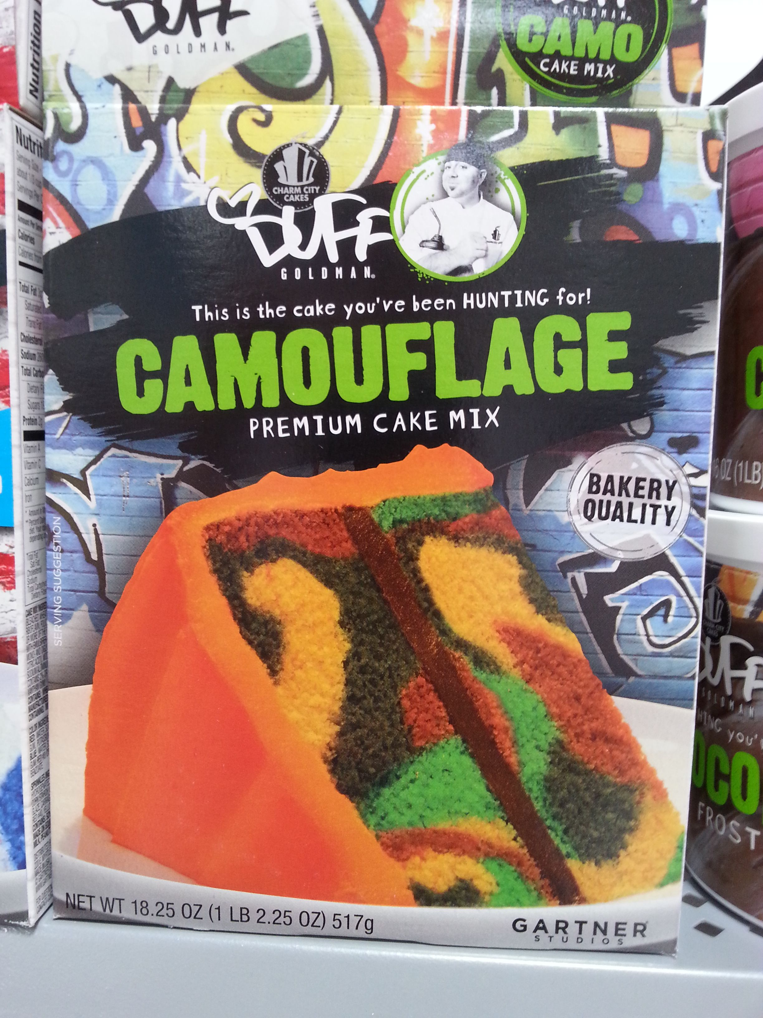 Went To Walmart Today Saw This Camouflage Cake Mix Its The Youve Been Hunting For