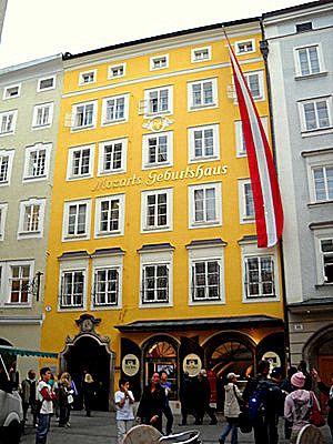 Mozart Geburtshaus (Salzburg), Austria