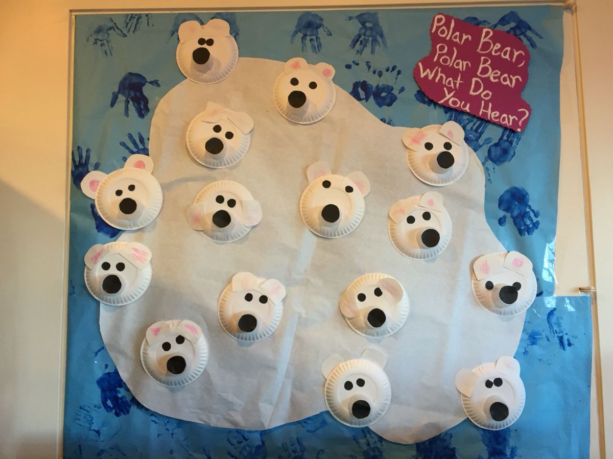 Pin By Ffumc Preschool On Polar Bear What Do You Hear