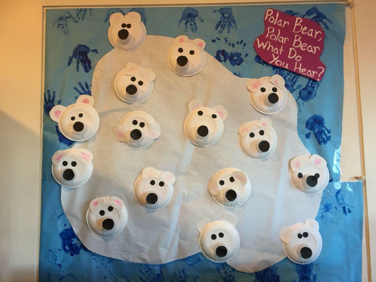 Pin By Ffumc Preschool On Polar Bear What Do You Hear