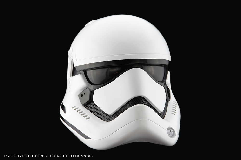 Star Wars The Force Awakens First Order Stormtrooper Helmet Accessory Anovos Productions Llc Stormtrooper Helmet Star Wars Helmet Helmet