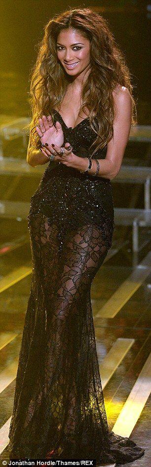 Scherzinger and Sharon Osbourne don similar gowns for X Factor Nicole ScherzingerNicole Scherzinger