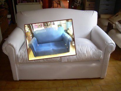 Aprende a tapizar un sof un trabajo m s sencillo de lo - Como tapizar un sofa paso a paso ...