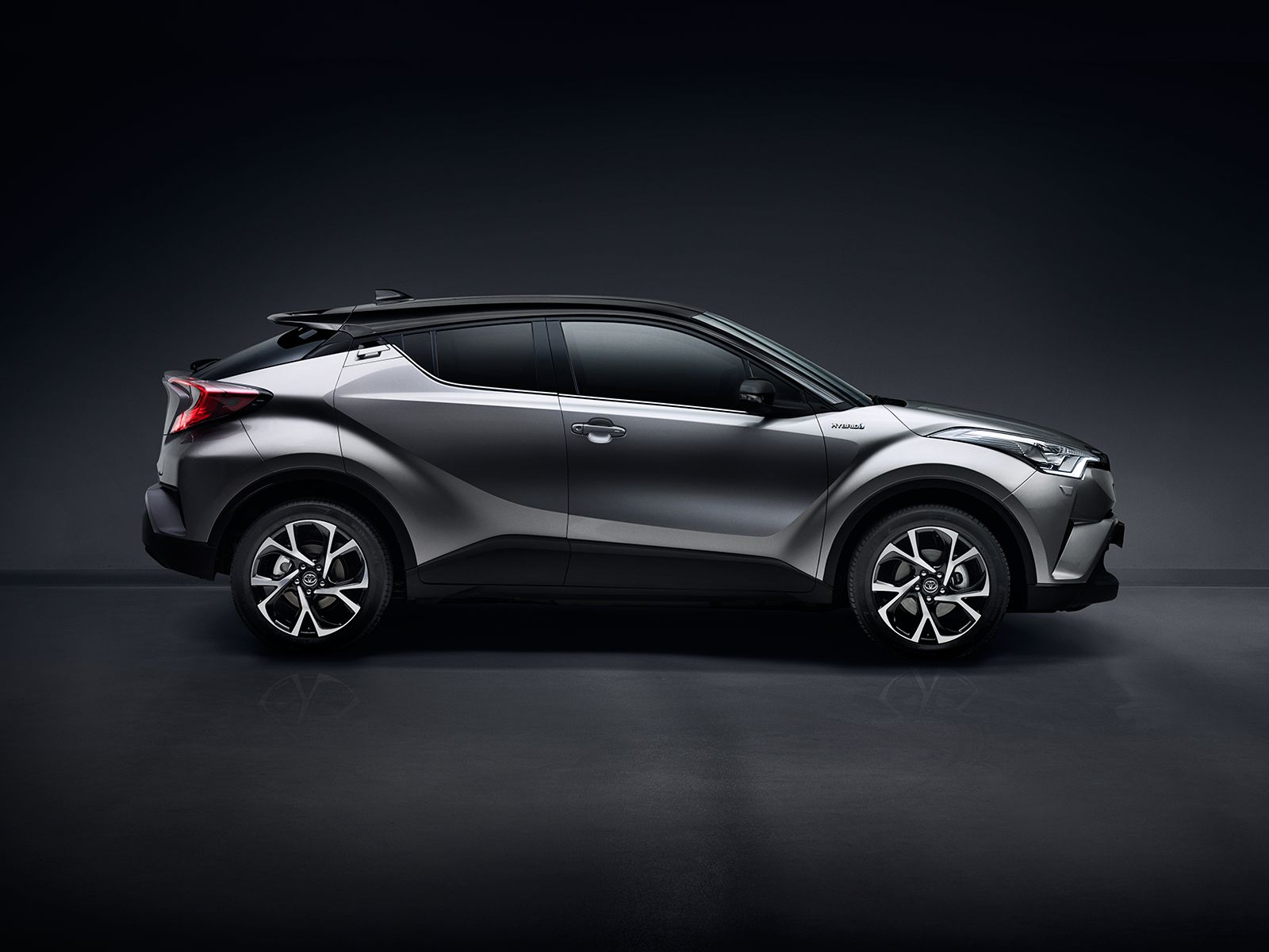 New Toyota CHR, Coupe High Rider Hybrid Crossover
