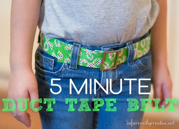 duck tape belt duck tape crafts and duct tape
