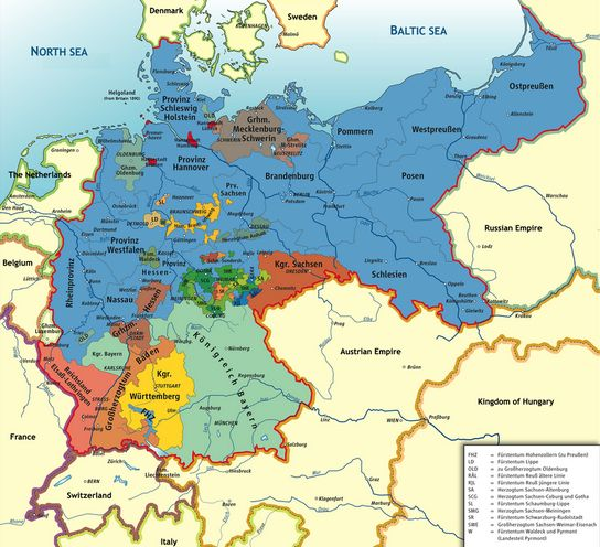 German empire 2nd reich formed 18 january 1871 click on image german empire 2nd reich formed 18 january 1871 click on image to enlarge httpsenpediawikiunificationofgermany germany pinterest gumiabroncs Images