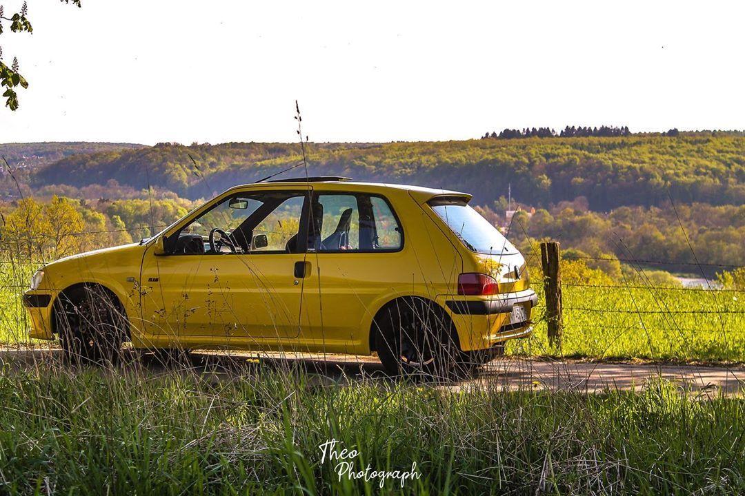 El diablo     #auto #106s16 #106 #106rallye #106gti #106xsi #106quiksilver #106team #106gtiteam #106owners #peugeot106 #106rally #peugeot #car #cars #frenchcar #jaunegenet #s16 #s1600
