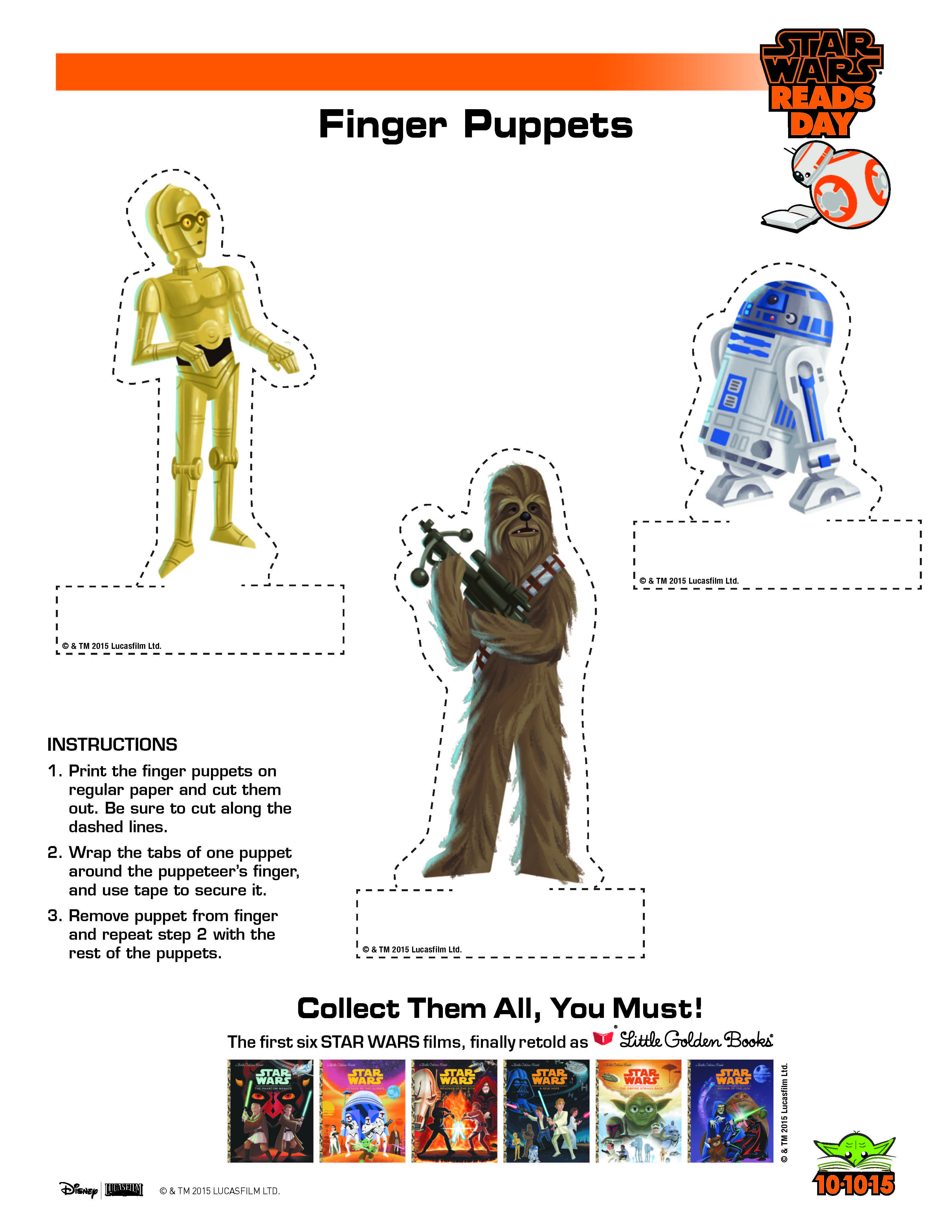 Star Wars Printables And Activities In