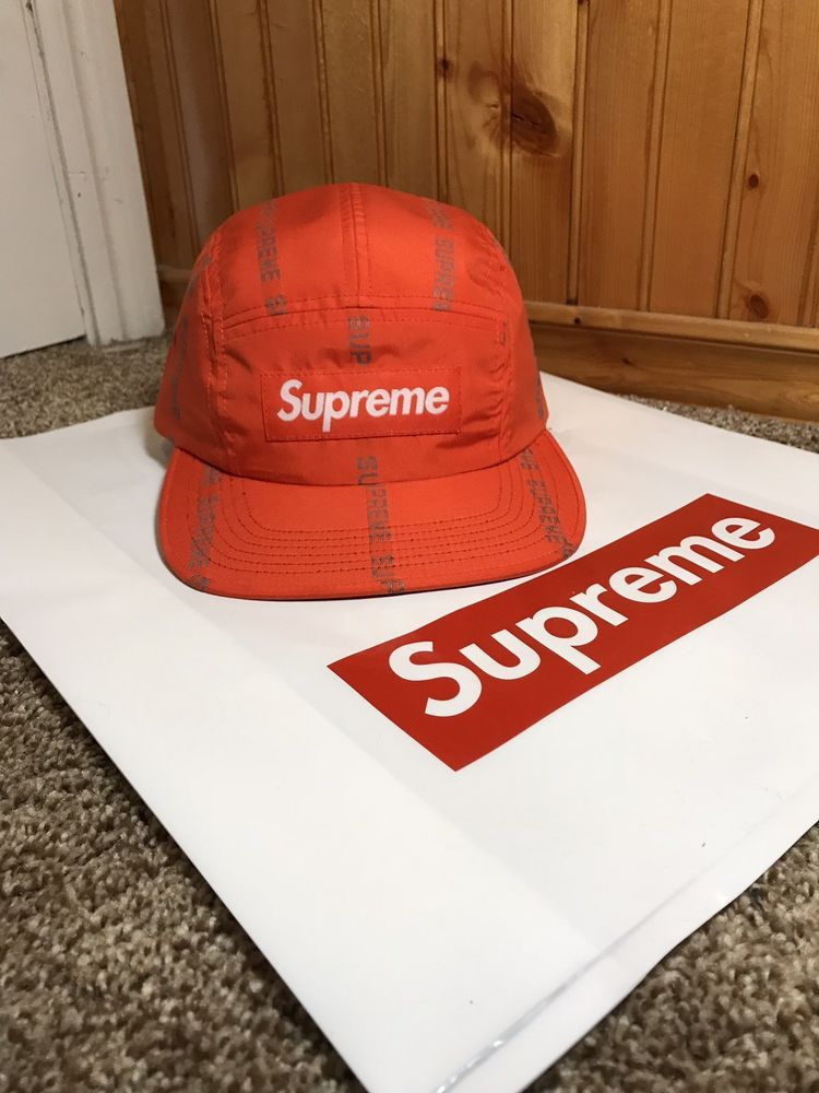 fbb455d1381 Supreme Reflective Box Logo Camp Hat  fashion  clothing  shoes  accessories   mensaccessories  hats (ebay link)