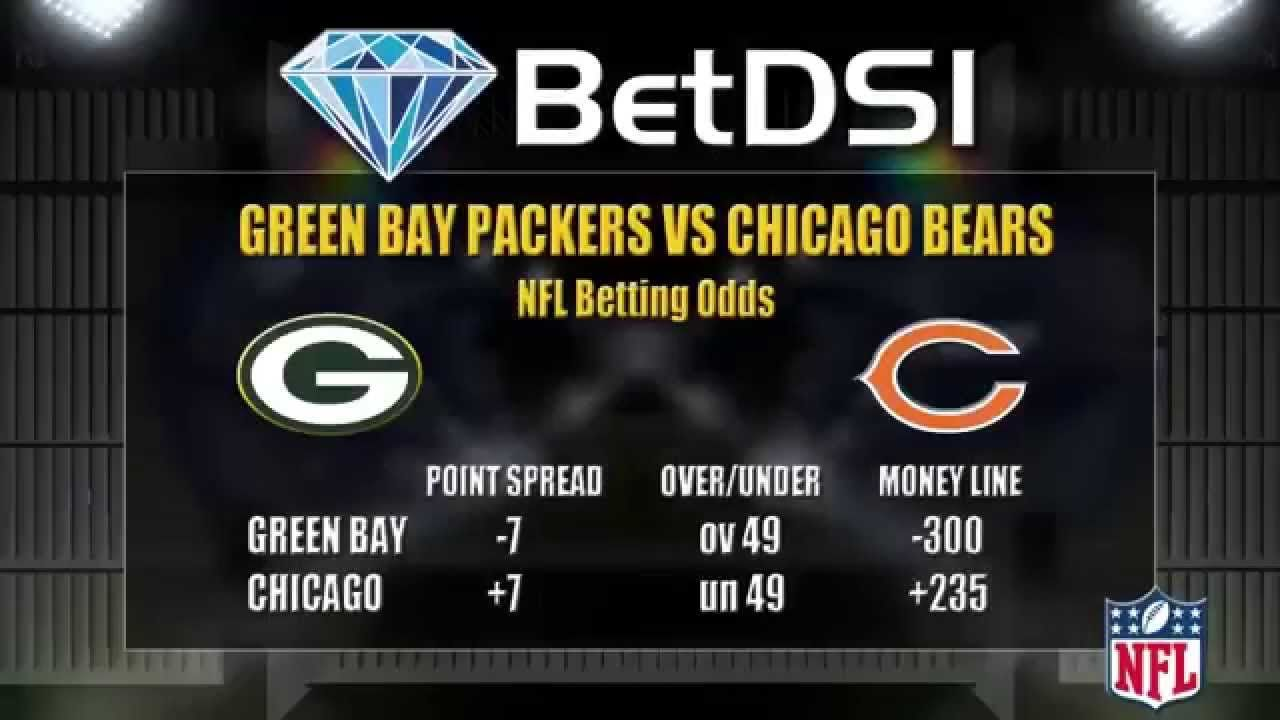 Green Bay Packers Vs Chicago Bears Odds Nfl Free Picks Green Bay Packers Vs Chicago Bears Chicago Bears Green Bay Packers