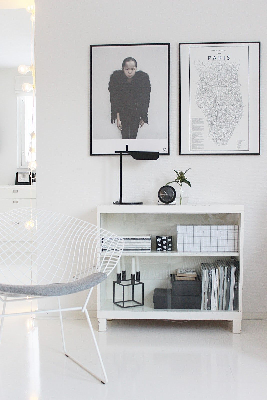 Simple black and white / Scandinavian home of Vaihtelevasti ...